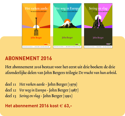 Abonnement 2016